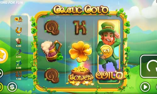 Gaelic Gold Videoslot Screenshot