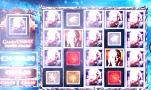 Game of Thrones Power Stacks slot