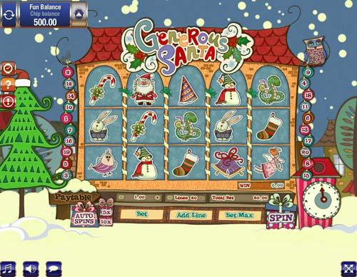 Generous Santa slot free play demo