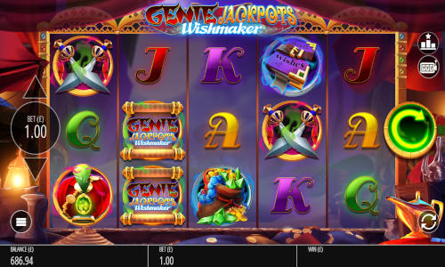 genie jackpots wishmaker slot overview and summary
