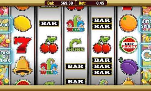 Get Fruity slot free play demo