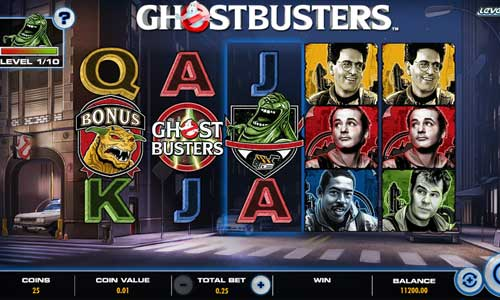 Ghostbusters Plus Videoslot Screenshot