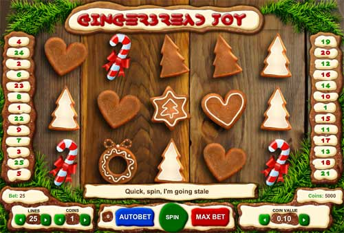 Gingerbread Joy Slot - Play this Free 1x2 Game Now