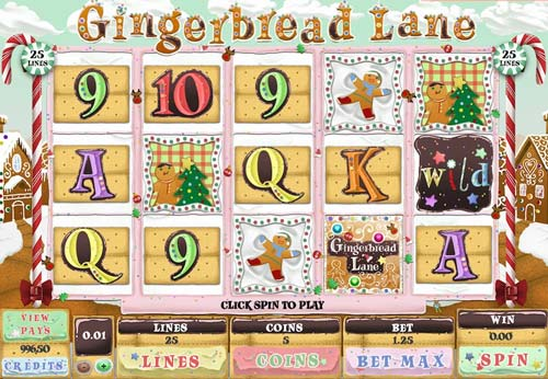 Gingerbread Lane slot