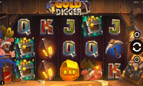 Gold Digger Videoslot Screenshot