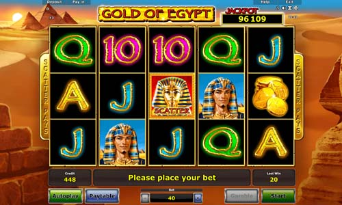 Gold of Egypt slot