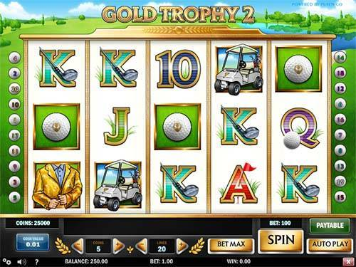 Gold Trophy 2 slot free play demo