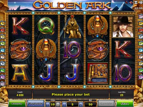Golden Ark slot free play demo