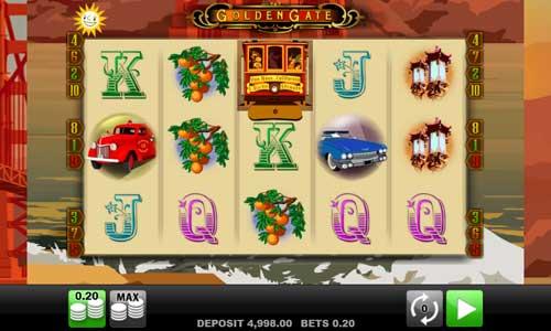 Golden Gate Videoslot Screenshot