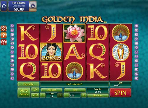 Golden India slot Games OS