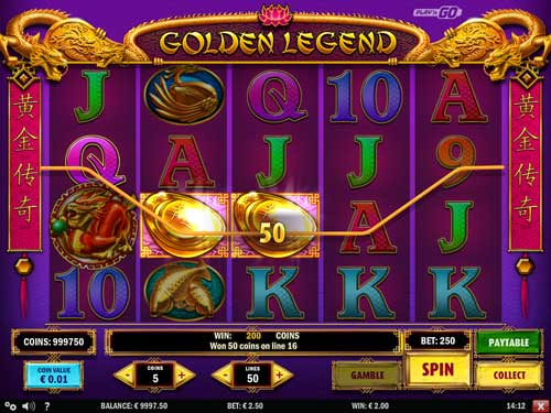 Golden Legend slot
