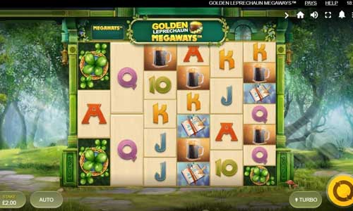 Golden Leprechaun Megaways slot