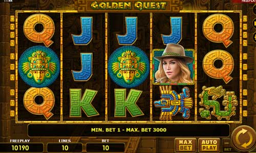 Golden Quest slot free play demo
