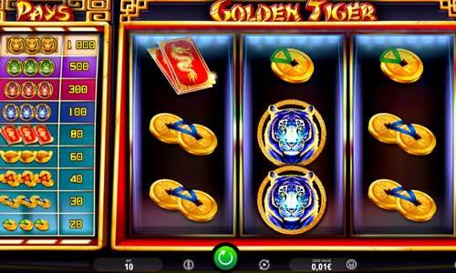 Golden Tiger Videoslot Screenshot
