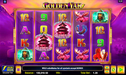 Golden Yak slot