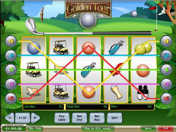 Golden Tour slot free play demo