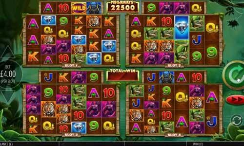 Gorilla Gold Megaways Videoslot Screenshot