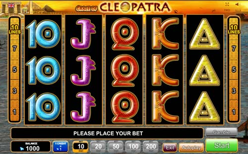 cleopatra online slot casino on line