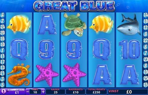 Great Blue slot free play demo