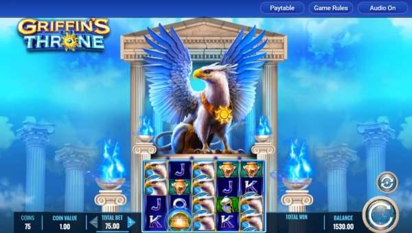 Griffins Throne Videoslot Screenshot