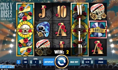 Play Guns N Roses Online Slots at Casino.com South Africa