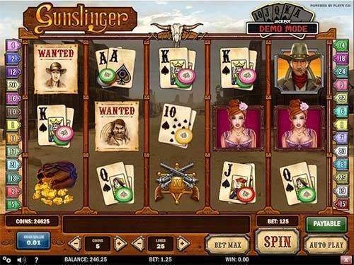 Gunslinger slot free play demo