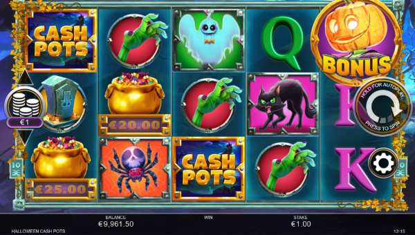 Halloween Cash Pots slot