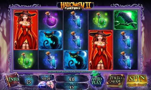 Halloween Fortune 2 Videoslot Screenshot