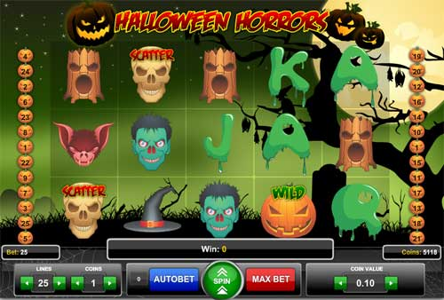 Halloween Horrors slot