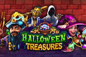 Halloween Treasures slot free play demo