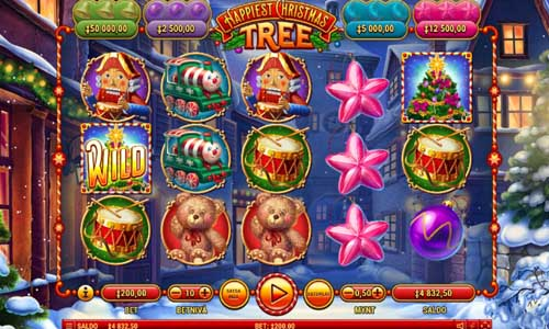 Happiest Christmas Tree slot Habanero