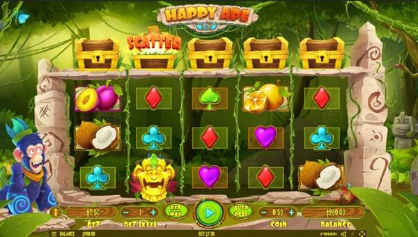 Happy Ape Videoslot Screenshot