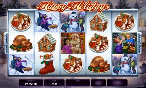 Happy Holidays - Rizk Casino