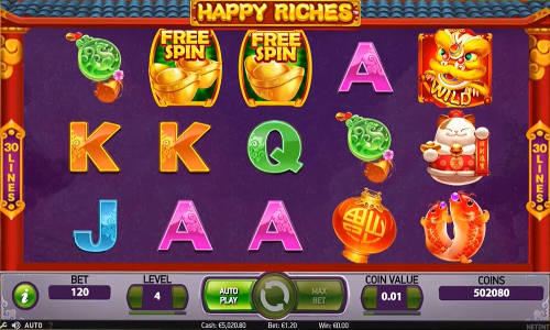 Happy Riches slot
