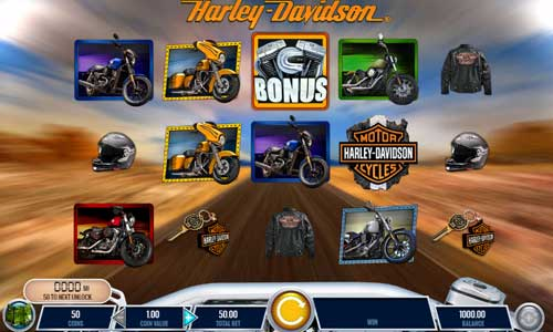 Harley Davidson Freedom Tour slot