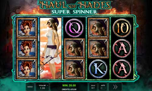 Haul of Hades Super Spinner slot