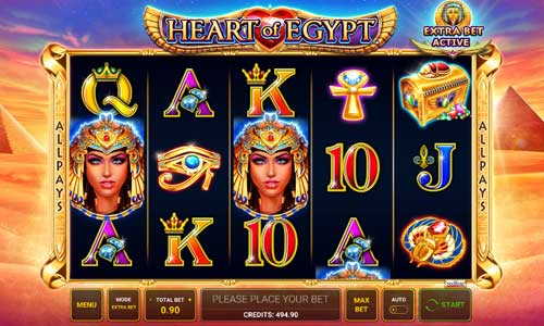 Heart of Egypt slot