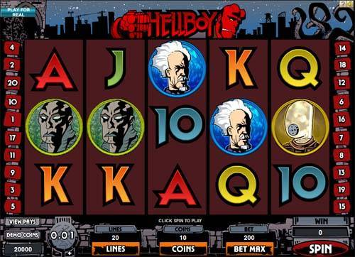 Hellboy slot free play demo