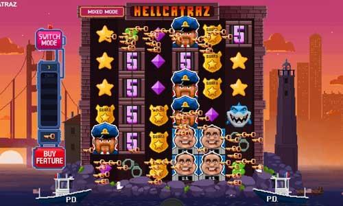 hellcatraz slot overview and summary