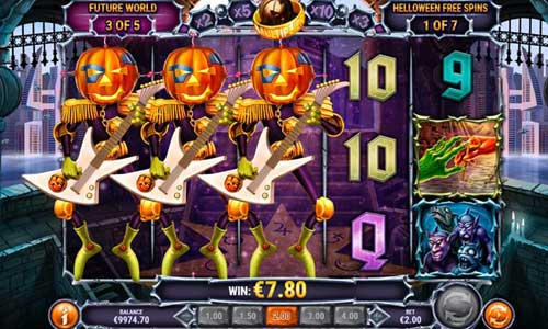 helloween slot overview and summary