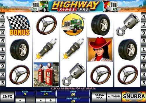Play Highway Kings Slots Online at Casino.com NZ