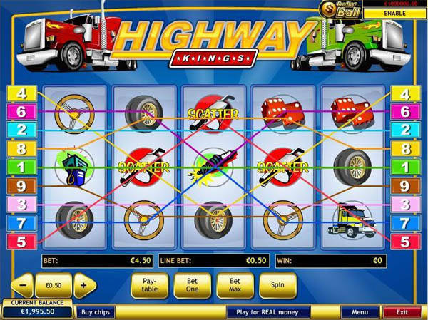 Highway Kings slot free play demo