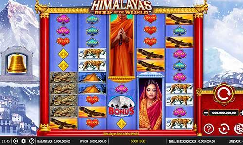 Himalayas Roof of the World Videoslot Screenshot