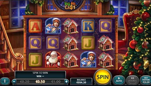 Ho Ho Cash Videoslot Screenshot