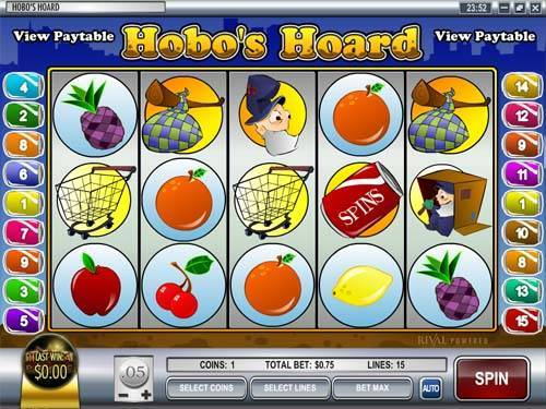 Hobos Hoard slot free play demo