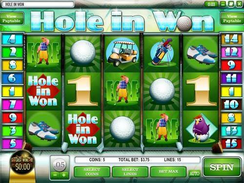 Hole in Won slot free play demo