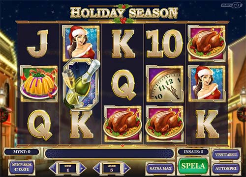 Holiday Season Videoslot Screenshot