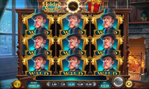 holiday spirits slot overview and summary
