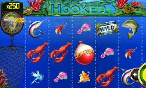 Hooked slot