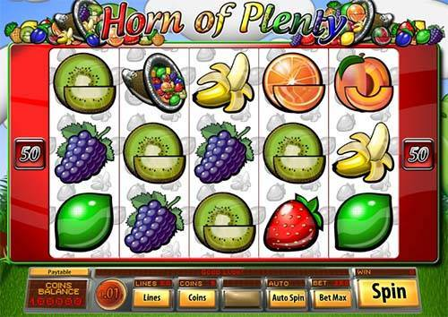 Horn of Plenty slot